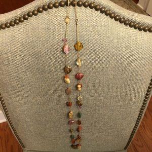 Lia Sophia long beaded necklace
